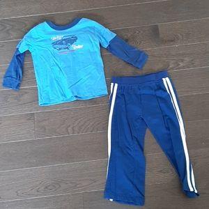 NWT - boy's shirt and pants set